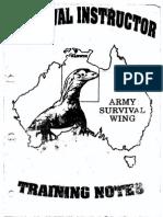 Survival Instructor Handbook