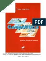 LACOSTE Yves GEOPOLITICA I Parte.pdf