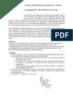 Pre-lab #5 - Thin Walled Pressure Vessel