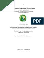 Aplicación de la Técnica de Biolabranza de Suelos Contaminadas por Hidrocarburos en Iquitos.doc