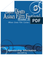 2010 San Diego Asian Film Festival Sponsorship Packet