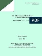 Maintenance Methods for Concrete Bridges