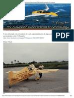 YV-X Los Aviones Experimentales Fabricados o Ensamblados En Venezuela