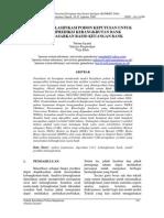 TEKNIK KLASIFIKASI POHON KEPUTUSAN UNTUK MEMPREDIKSI KEBANGKRUTAN BANK BERDASARKAN RASIO KEUANGAN BANK.pdf