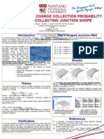 Poster for Computation of Charge Collection Probability for Any Collecting Junction Shape