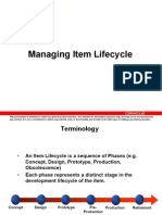 Oracle  PLM LifecycleMgt