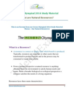 Green Olympiad 2014 Study Material