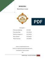 Makalah Metabolisme Lemak (Kelompok 3) FTIP Ekstensi 2012.docx