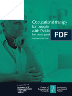 Occupation Theraphy for Parkinsons