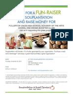 Soup Plantation Flyer