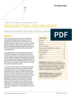 WRI UNEP Reducing Food Loss and Waste