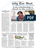 The Daily Tar Heel for Oct. 7, 2014