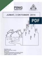 Kliping Berita Perumahan Rakyat, 3 Oktober 2014