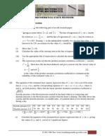 H1 MATH (Statistics)