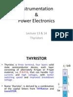 Lecture Thyristors