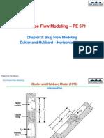 2 Slug Flow Modeling Dukler Hubbard 1975