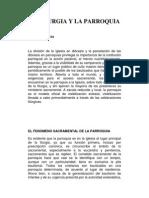 LA ÑITURGIA Y LA PARROQUIA.docx