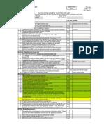 22 DCL38A Rev 3 Navigation Audit Checklist