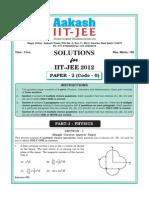 Iit Jee 2012 Paper II (Code 0)