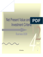 Capital Budgeting Npv Irr