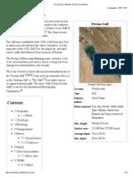Persian Gulf - Wikipedia, The Free Encyclopedia