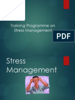 Stress Management- training programme