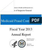 Medicaid Fraud Control Units 2013