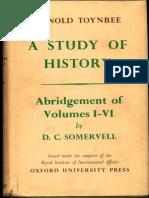 Arnold Toynbee A Study Of History Abridgement Of Vol. I-VI - D.C. Somervell_Part1.pdf