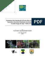 + Wildlife conservation society RAPPORT du Projet Gestion de la Faune.pdf
