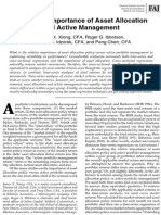 Equal Importance of Asset All Oc Active Mgmt