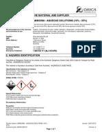 Aqueous Amonia