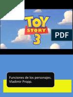Funciones de los personajes en la película Toy Story 3.pptx