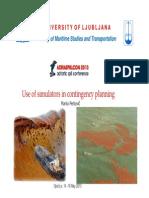 Use of simulators in contingency planning - Perkovic.pdf