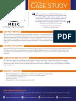 Talent Network Case Study NESC 2013