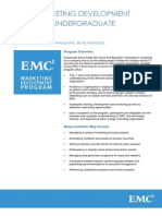 emc- marketing job info