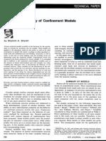 A Comparative Study of Confinement Models - ACI 1982 - S.a. Sheikh