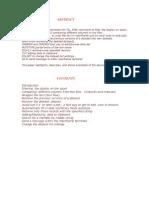 Paper on Tso-Ispf