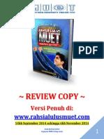 RahSia Lulus MuEt Review Copy