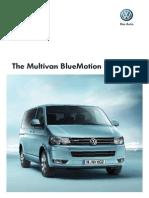 The Multivan BlueMotion