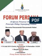 Forum Perdana 2014