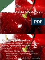 Hemoragiile Digestive