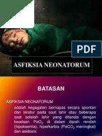 ASFIKSIA NEONATORUM