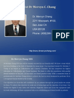 Dr. Mervyn ChangDDS