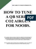 QB78 CO2 Air Rifle Tuning