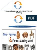 Some substantial information about Non Ferrous castings in India