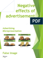 Negative Effects of Advertisement