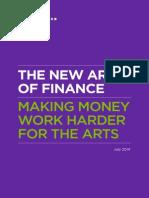 The New Art of Finance