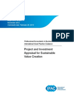 PAIB IGPG ED Project and Investment Appraisal for Sustainable Value Creation 0