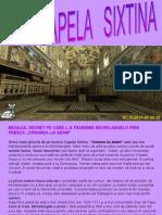 Chapelle Sixtine-Capela Sixtina Explicata