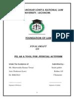 PIL as a tool for  judicial activism